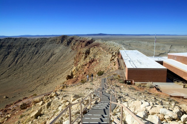 The Barringer crater (Аризона, США)