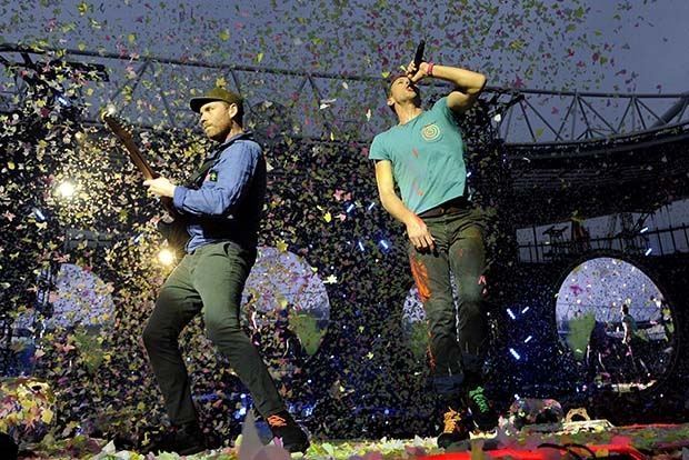 14. Coldplay